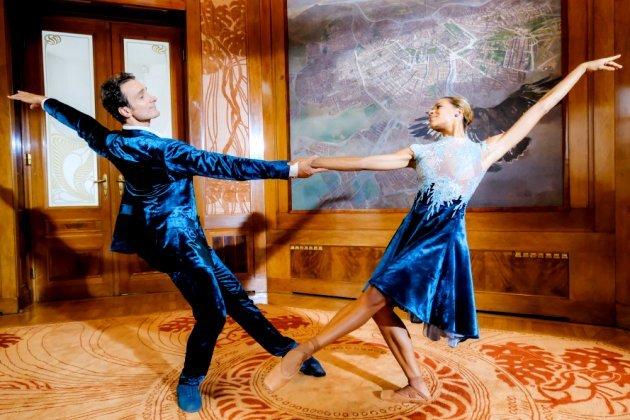 Roman Lazik - Rebecca Horner - Tänzer vom Wiener Staatsballett beim Neujahrskonzert 2018