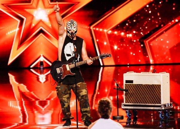 Rutt Mysterio beim Supertalent am 2.12.2017