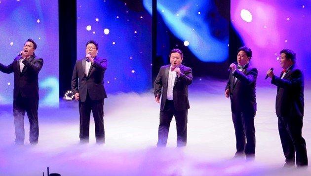 Seicento Chor beim Supertalent 2017 am 9.12.2017 Halbfinale