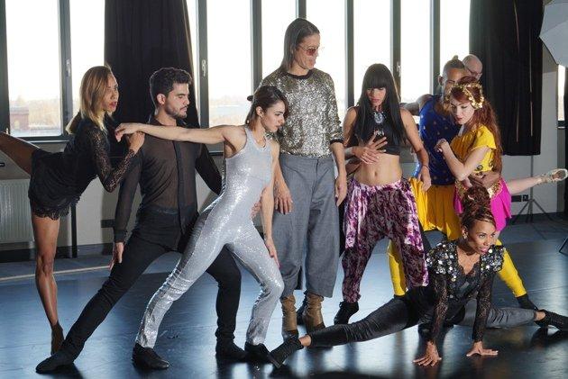 Tänzer Ballet Revolucion 2018 mit Jorge Gonzalez