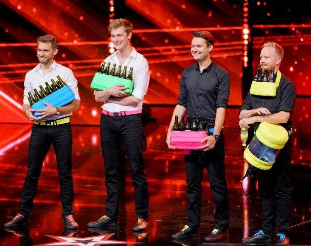 The Bottle Boys beim Supertalent 2017 am 9.12.2017 Halbfinale