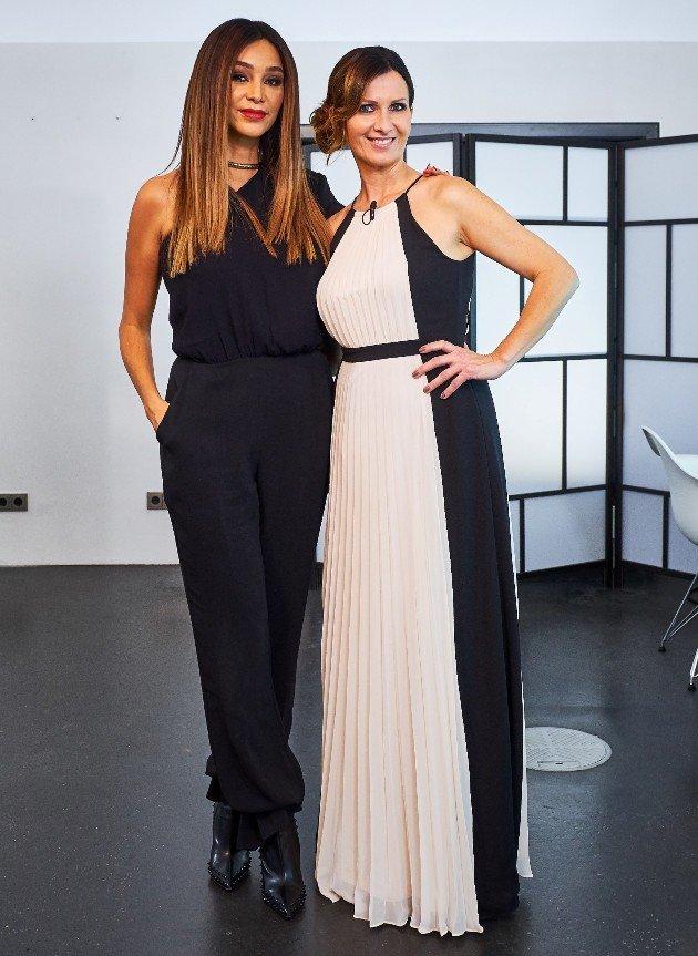 Verona Pooth und Jennifer bei der Shopping Queen des Jahres am 17.12.2017