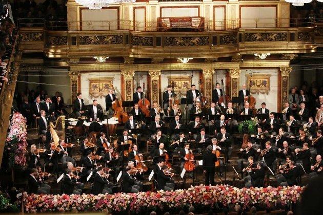 Wiener Philharmoniker im Wiener Musikverein Neujahrskonzert 2018