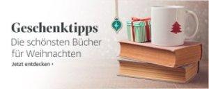 Die schönsten Bücher zu Weihnachten bei amazon