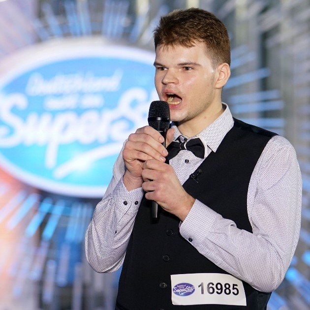 Amadeus Soszka bei DSDS am 6.1.2018