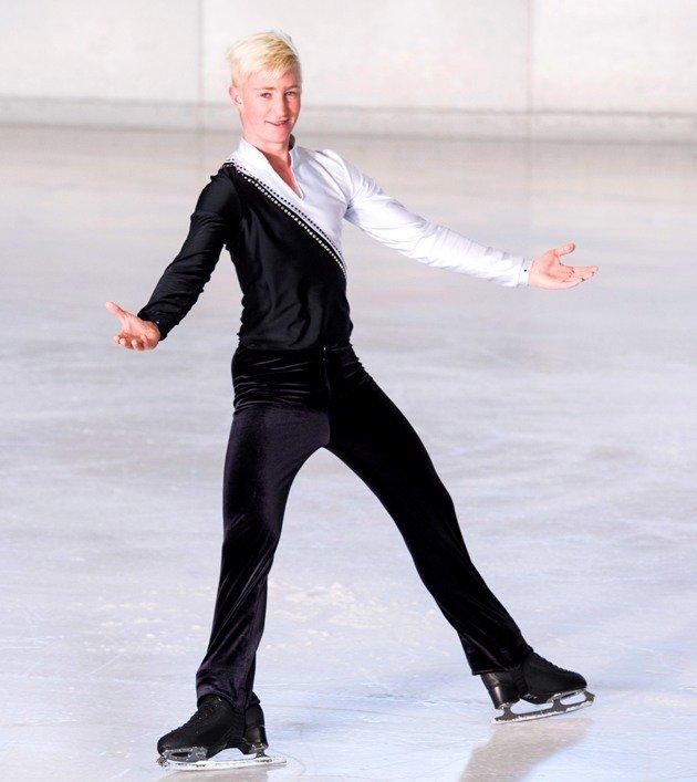 Anton Skoficz Meister 2018 Junioren Österreichische Meisterschaft Eiskunstlauf 2018