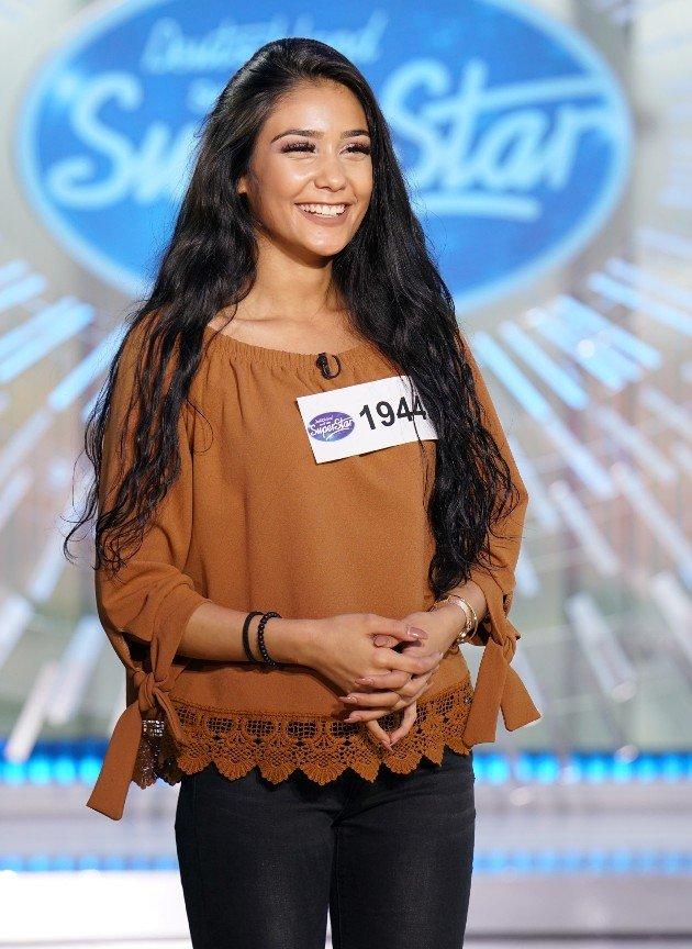 Aylin Aksu Kandidatin DSDS am 13.1.2018
