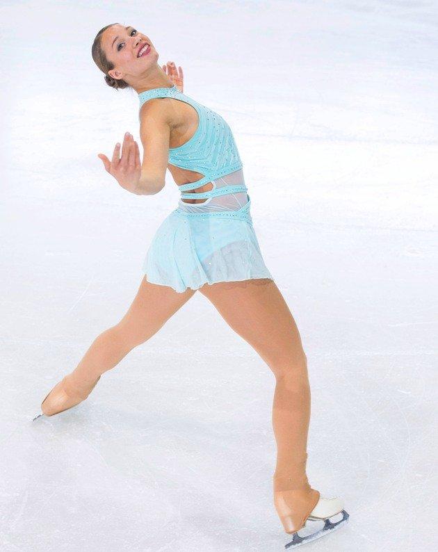 Lara Roth - Platz 1 Österreichische Meisterschaft Eiskunstlauf 2018