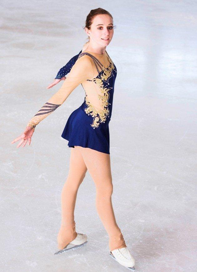 Natalie Klotz - Platz 2 Österreichische Meisterschaft Eiskunstlauf 2018