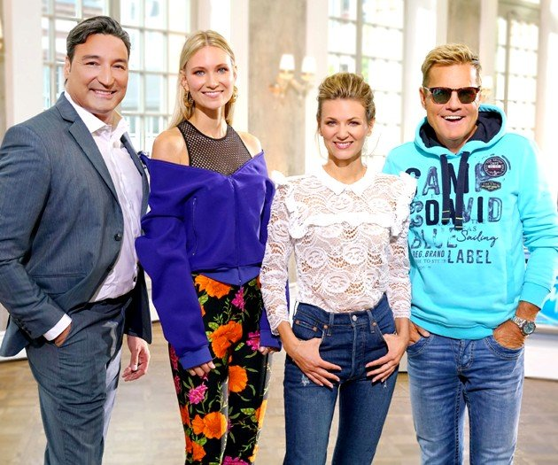 Neue Jury bei DSDS 2018 mit Jury DSDS 2018 mit Mousse T, Carolin Niemczyk, Ella Endlich und Dieter Bohlen