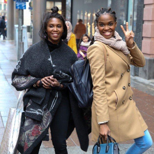 Promi Shopping Queen am 21.1.2018 mit Sarah Lombardi, Oti und Motsi Mabuse