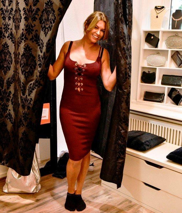 Sabia Boulahrouz beim Shoppen - Promi Shopping Queen 14.1.2018