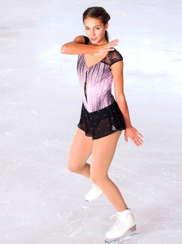 Sophia Schaller - Platz 3 Österreichische Meisterschaft Eiskunstlauf 2018