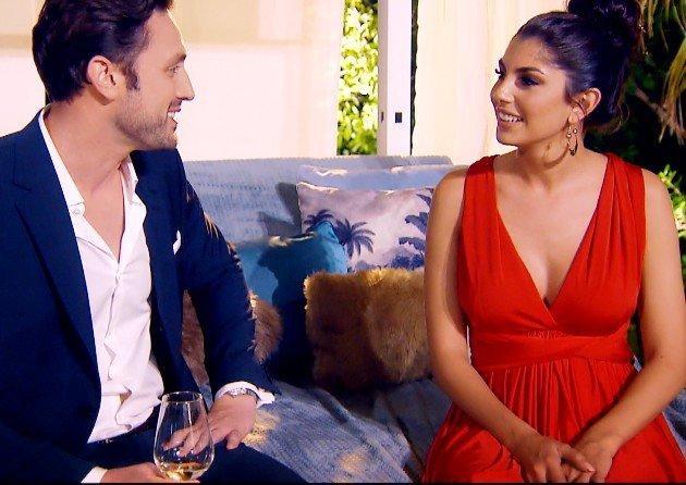 Yeliz und Daniel im Gespräch beim Bachelor am 10.1.2018