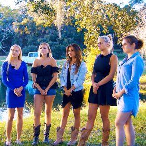 Bachelor 2018 am 21. Februar 2018 - Svenja, Jessica, Kristina, Carina und Janine Christin