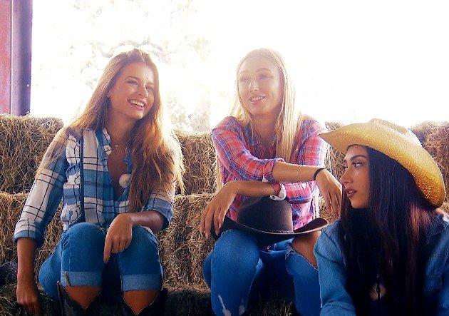 Maxime, Jessica und Samira beim Bachelor am 14.2.2018