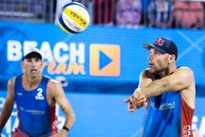 Nick Lucena - Phil Dalhausser (USA) - Beach-Volleyball Fort Lauderdale