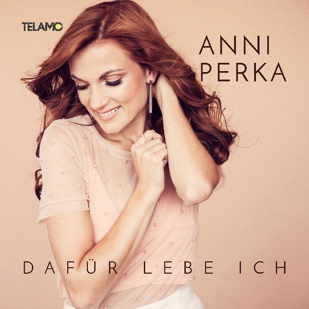 Anni Perka 2. Schlager CD Dafür lebe ich veröffentlicht