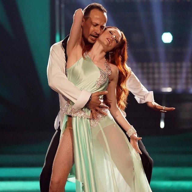 Barbara Meier - Sergiu Luca bei Let's dance am 23.3.2018