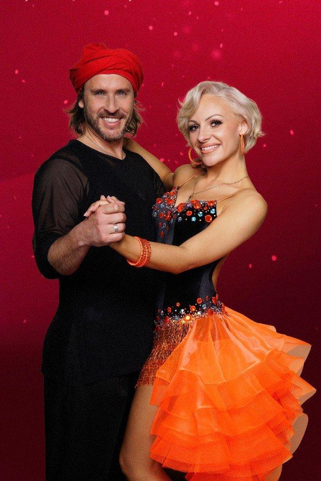Chakall - Marta Arndt als Tanzpaar bei Let's dance 2018