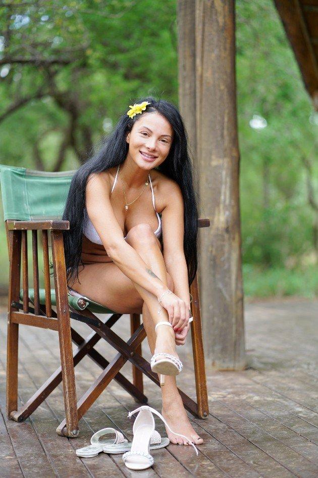 Emilija Mihailova im Bikini - Recall DSDS 2018 Südafrika