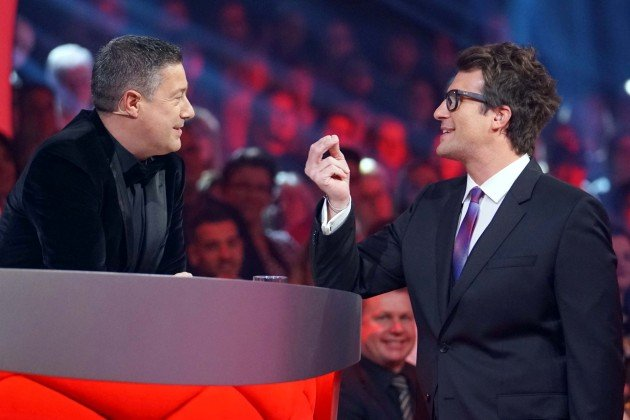 Joachim Llambi und Daniel Hartwich bei Let's dance am 9.3.2018