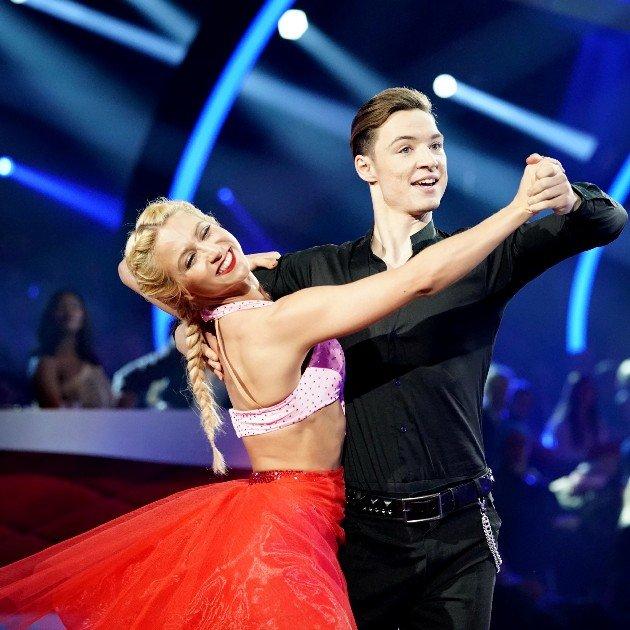 Kathrin Menzinger - Heiko Lochmann bei Let's dance am 23.3.2018
