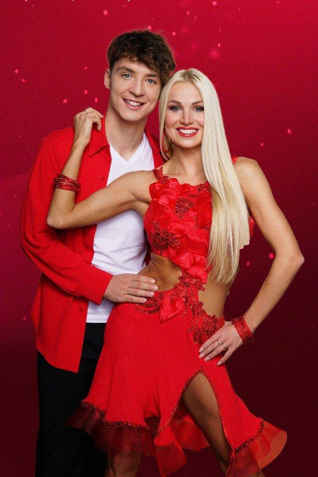 Roman Lochmann - Katja Kalugina als Tanzpaar bei Let's dance 2018