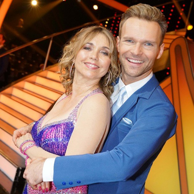 Tina Ruland - Vadim Garbuzov - Tanzpaar bei Let's dance 2018