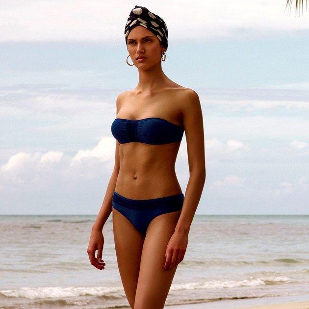 Aracari Bikini von Andres Sarda mit trägerlosem Oberteil Bademode Sommer 2018