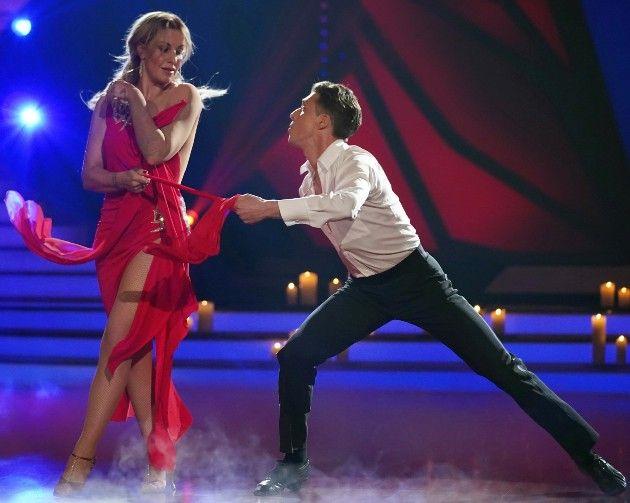 Charlotte Würdig - Valentin Lusin ausgeschieden bei Let's dance am 27.4.2018