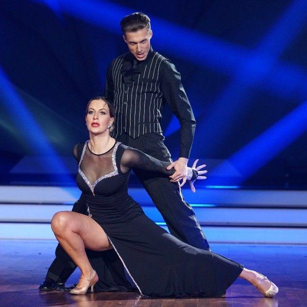 Charlotte Würdig - Valentin Lusin bei Let's dance am 6.4.2018