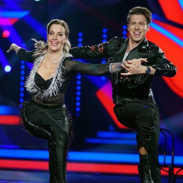 Charlotte Würdig und Valentin Lusin bei Let's dance am 13.4.2018