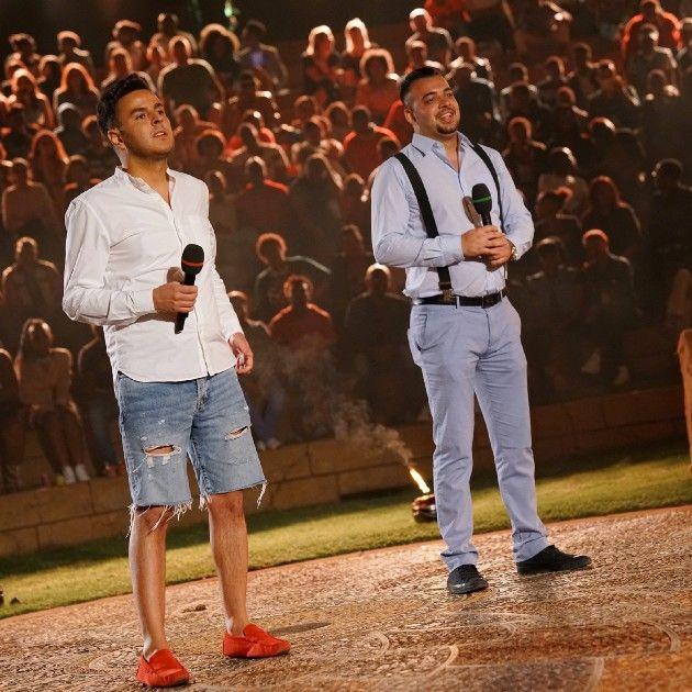 Farid El Hassass und Mario Turtak bei DSDS am 7.4.2018