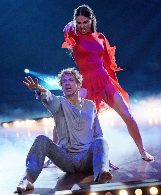 Ingolf Lück und Ekaterina Leonova bei Let's dance am 13.4.2018