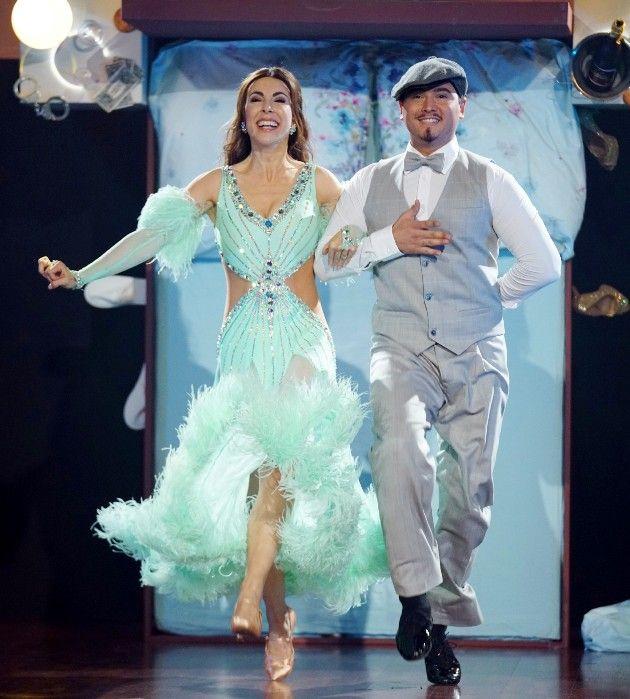 Judith Williams und Erich Klann bei Let's dance am 13.4.2018