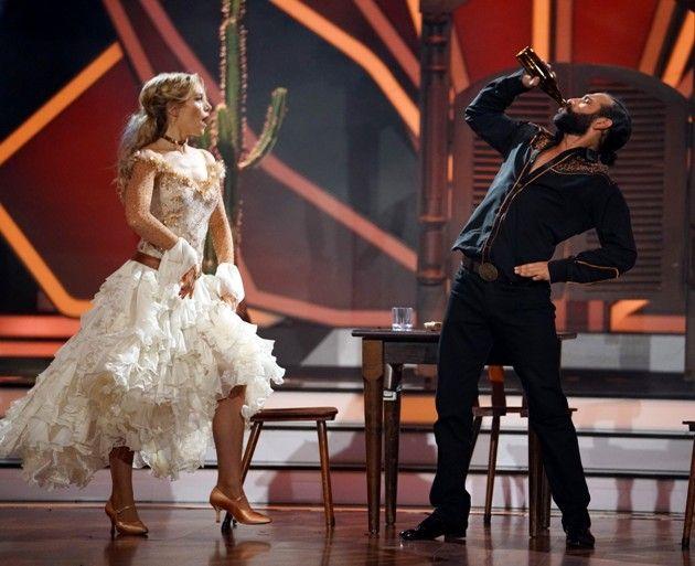 Julia Dietze - Massimo Sinato bei Let's dance am 6.4.2018