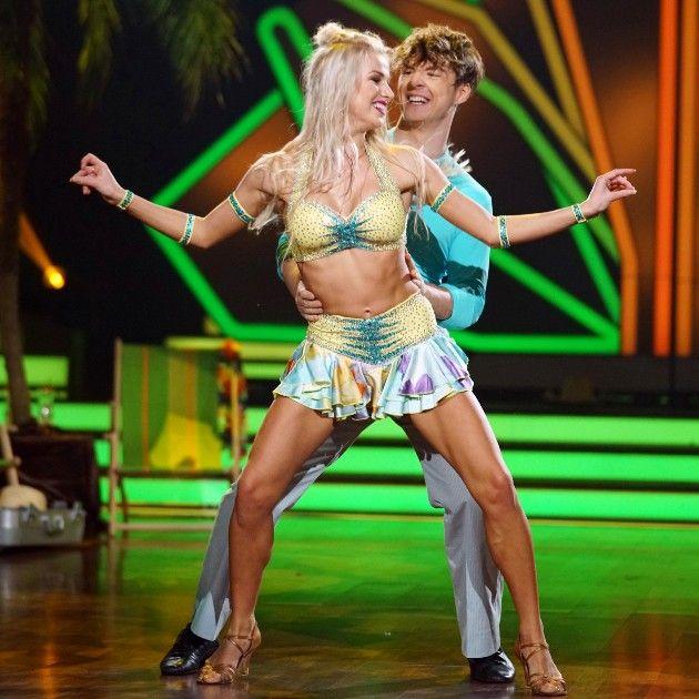 Katja Kalugina - Roman Lochmann bei Let's dance am 6.4.2018