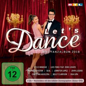 Let's dance CD 2018 - 43 Songs aus der Tanz-Show +Bonus-DVD