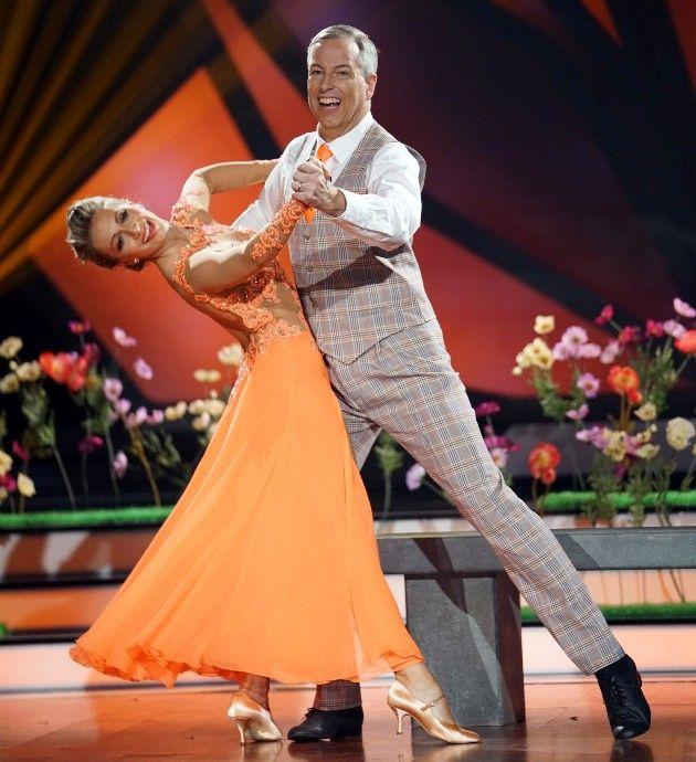 Regina Luca - Thomas Hermanns bei Let's dance am 6.4.2018