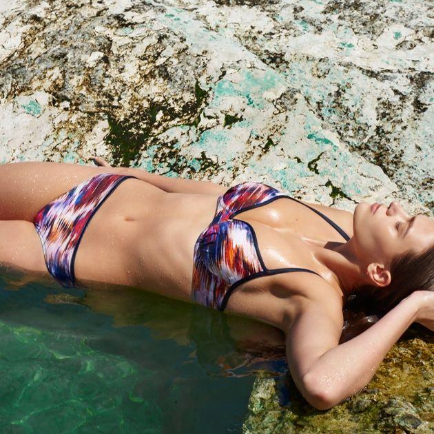 Sommermode 2018 Marie Jo Swim Bikini Juliette in Muster Tropical Fever