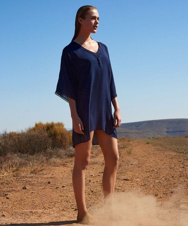 Strandkleid Claudine Blue Moon - Marie Jo Swim - Strandmode Sommer 2018