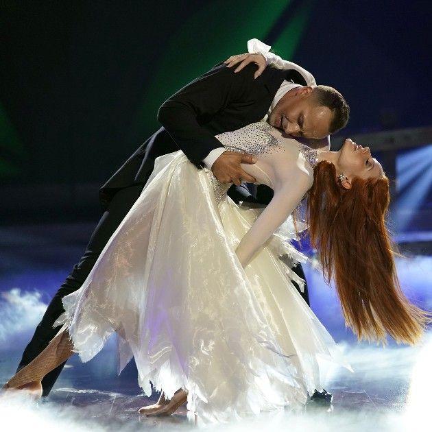 Barbara Meier - Sergiu Luca bei Let's dance am 4