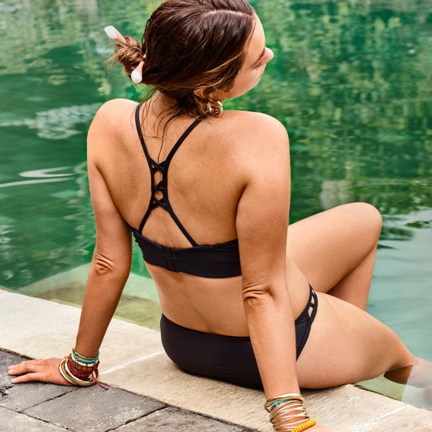 Bikini Mode Sommer 2018 Prima Donna Swim Modell Freedom, Farbe Black