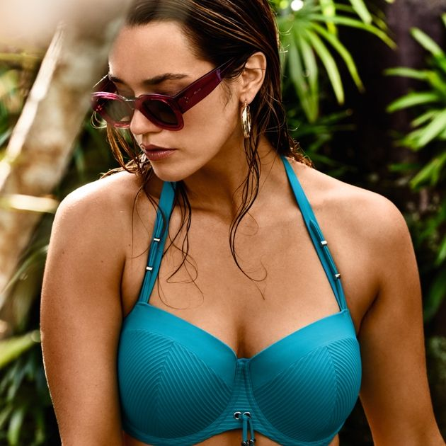 Bikini-Oberteil Mode 2018 PrimaDonna Swim Modell Nikita, Farbe Spash