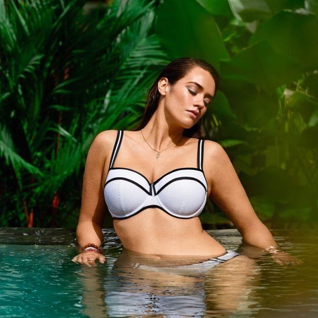 Bikini-Oberteil Sommermode 2018 PrimaDonna Swim, Modell Joy, Farbe White
