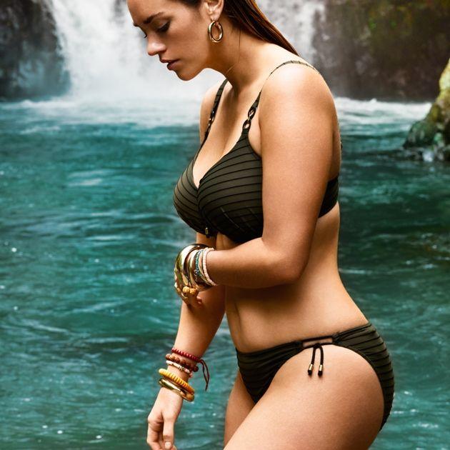 Bikini Sommermode 2018 PrimaDonna Swim Modell Sherry, Farbe Kaki