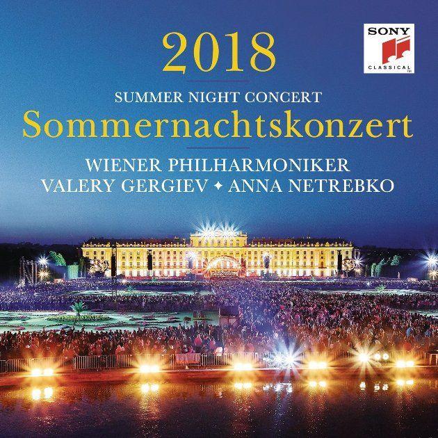 CD und DVD vom Sommernachtskonzert 2018 der Wiener Philharmoniker
