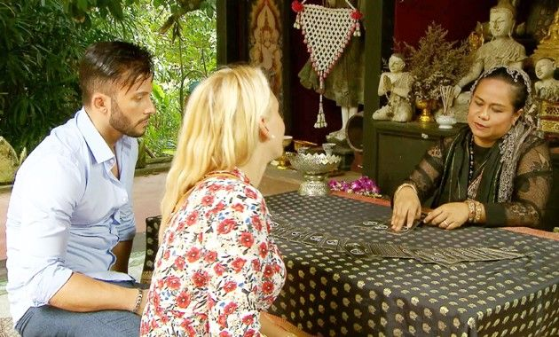 Domenico und Evelyn bei Bachelor in Paradise am 16.5.2018
