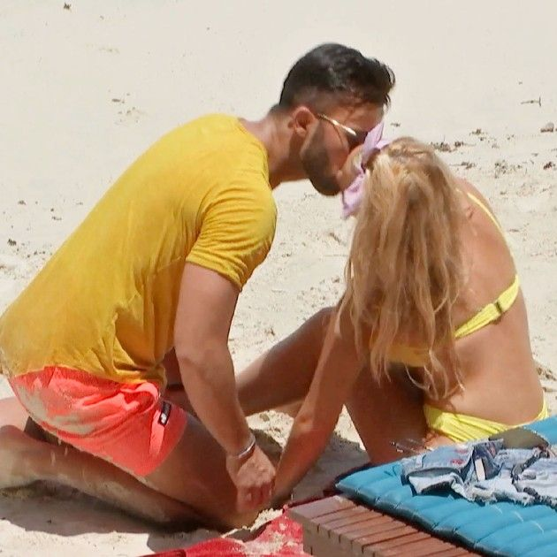 Domenico und Evelyn bei Bachelor in Paradise am 23.5.2018